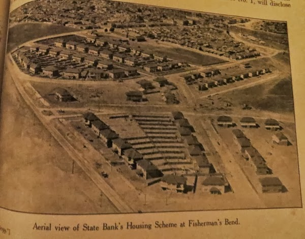 Aerial view of State Bank's Housing Scheme