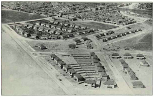 "Aerial view of State Bank's Housing Scheme at Fisherman's Bend from ""Melbourne - Plan for General Development"", Report of the Metropolitan Town Planning Commission, 1929"