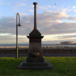 Maskell & McNab Memorial on Port Melbourne foreshore