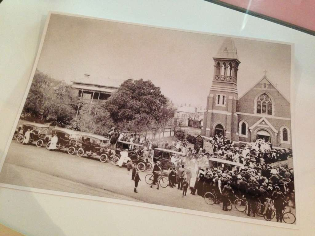 Wedding at Holy Trinity Church, Port Melbourne 1911, Museum Victoria Collection 773060