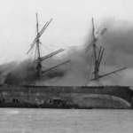 A Kerosene Ship in Flames