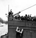 Hororata Departure from Port Melbourne 1916 (Pictures Collection - State Library of Victoria)