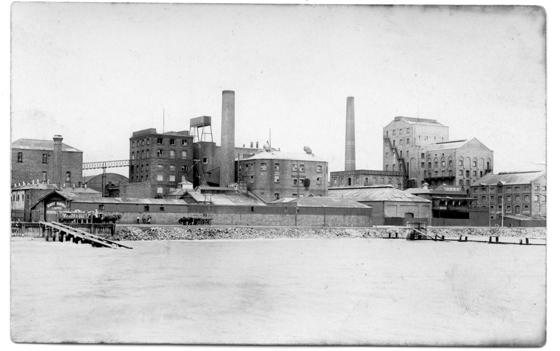 Harper's Starch Factory c 1920s (PMH&PS Collection)