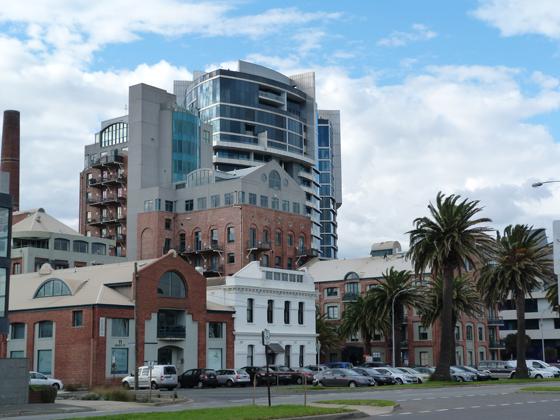 Sandridge Bay Towers (former Harper's Starch Factory)