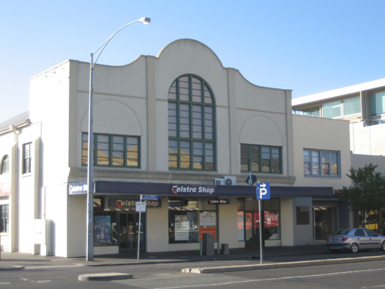 former Port Theatre, Bay Street, Port Melbourne