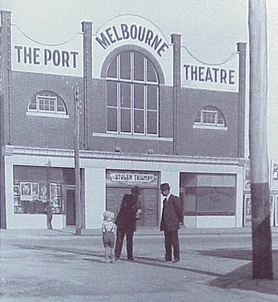 The Port Melbourne Theatre, C 1920s - PMHPS Collection