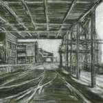 Station Pier, Port Melbourne by Brian Cleveland
