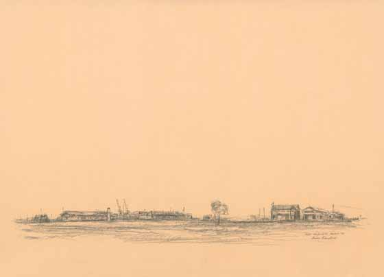 Port Melbourne, March '92 by Brian Cleveland