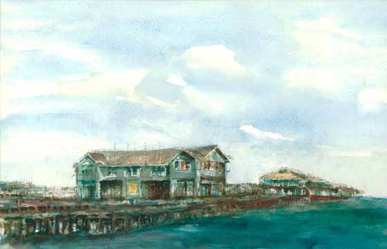 Princes Pier by Brian Cleveland