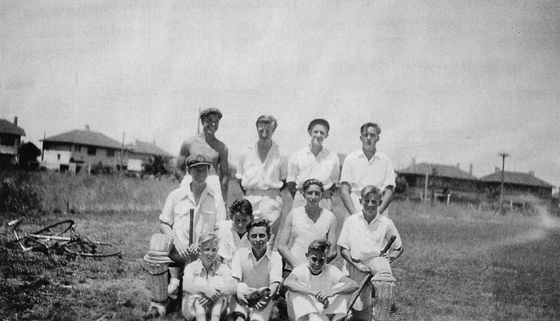 Port United Boys Cricket Team at JL Murphy Reserve, 1952.