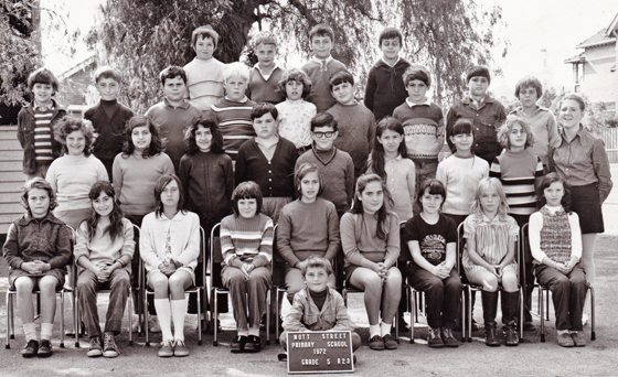 Nott Street Primary School, Grade 5, 1972
