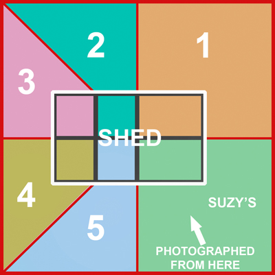 Diagram of Suzy's Shared Shed