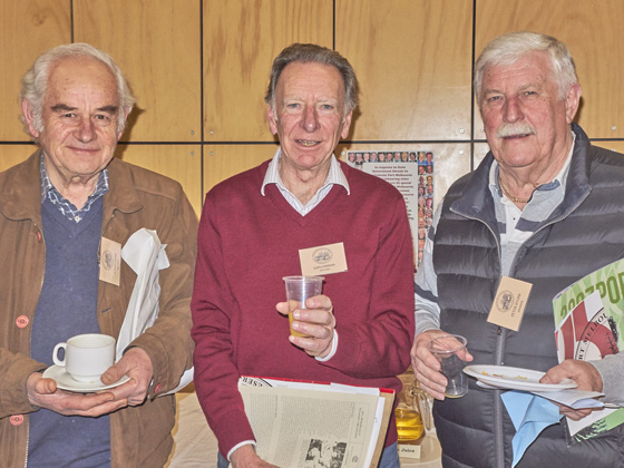 Chris Piper, Glen Cosham and Peter Julier
