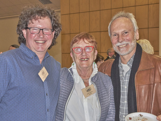 David Nicholas, Ann Gibson and Greg Hansen