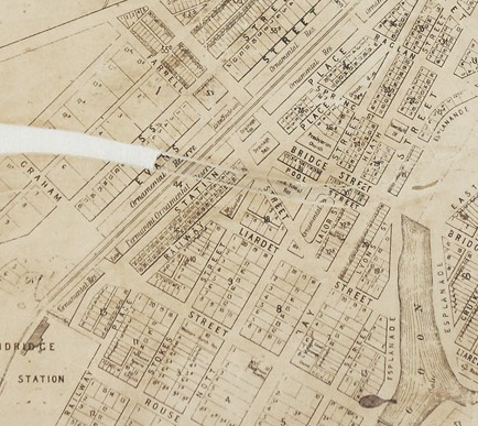 This image has an empty alt attribute; its file name is Map-Sandridge-1872-434px.png
